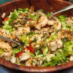 Avocado, Shrimp, and Hearts of Palm Salad