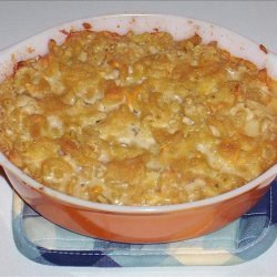 Kree's Baked Macaroni and Soy Cheese recipe