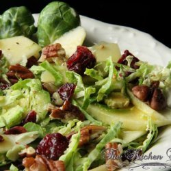 Brussels Sprouts Christmas Salad