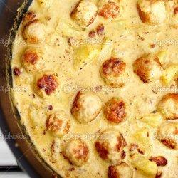 Pineapple Turkey Curry