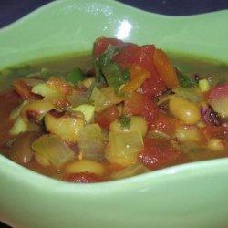 Lubiya (Sephardi Israeli Black-Eyed Pea Soup)