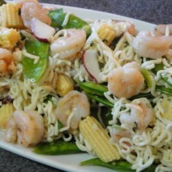 Ramen Noodle Shrimp Salad
