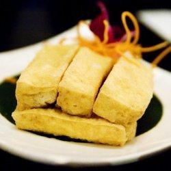Crispy Tofu and Bacon Wraps