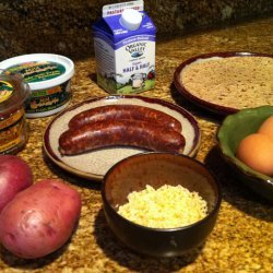 Chourico Breakfast Salsa recipe