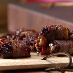 Bacon-Wrapped Dates Stuffed with Manchego Cheese