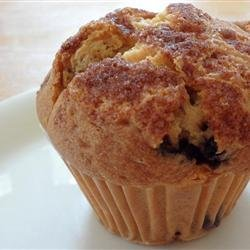 Streusel Topped Blueberry Muffins recipe