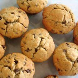 Mocha Chocolate Chip Banana Muffins
