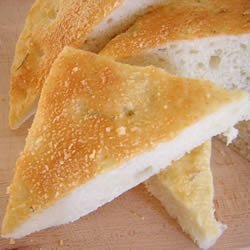 Flat shaped breads