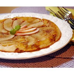 Baked Apple-Pecan Maple Pancakes recipe