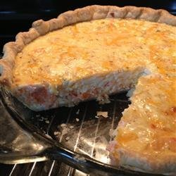 Salmon Quiche recipe