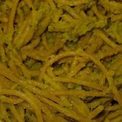Green Pea Pesto recipe