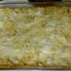 Chicken Divan Lasagna