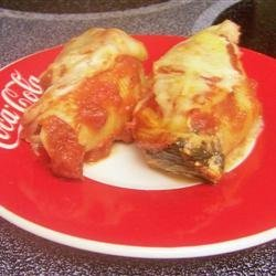 Giant Stuffed Pasta Shells recipe