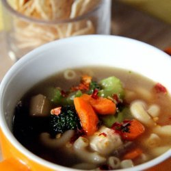 Vegetable and Pasta Soup