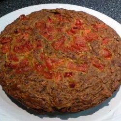 Courgette, Tomato & Paprika Cake