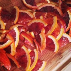 Blood Orange Marmalade With Rosemary