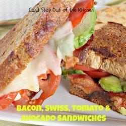 Bacon, Tomato Avocado Sandwich