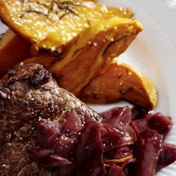 Fillet Steaks With Red Wine Sauce