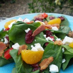 Special Occasion Spinach Salad recipe