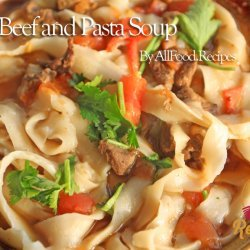 Beef & Pasta Soup