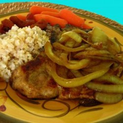 Pork Chops With Sweet Curried Onion
