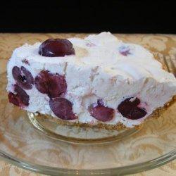Easy No Bake Frozen Cherry Cream Pie (2 Pies!!!)