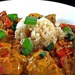 Thai  orange  Curry Chicken