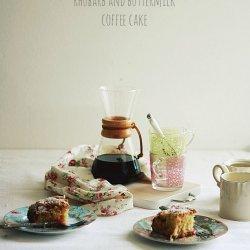 Buttermilk-Rhubarb Coffee Cake