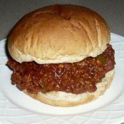 Sweet & Savory Sloppy Joes