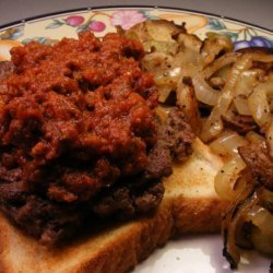 Chili Beef for Hotdogs or Chili Mac or Chili 3,4, 5 Way