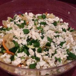 My Big Fat Greek Pasta Salad