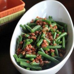 Beans, beans, beans, beans, beans, beans, onions and beans