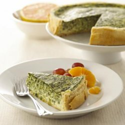 Chavrie Spinach Quiche recipe
