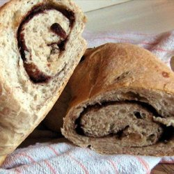 Cinnamon Raisin Swirl Bread (My Lightened Version)