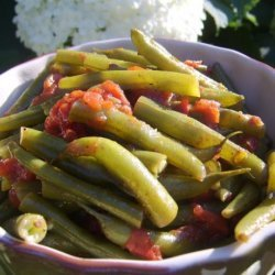 Vegetarian Green Beans and Tomatoes