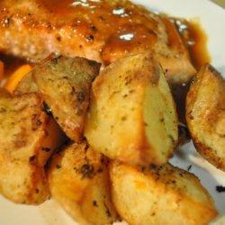 Garlic Roast Potatoes