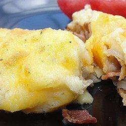 Bacon, Leek, and Potato Pie