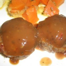 Glazed Bacon Meatloaf