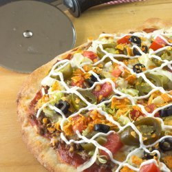 The Best Taco Pizza