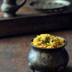 Tamarind Rice With Sesame Seeds