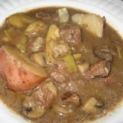 Mom's Beef Burgundy Stew