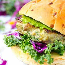 Kale Turkey Burgers