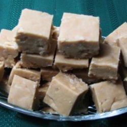 Peanut Butter Microwave Fudge