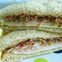 Easy Crunchy Healthy Sandwich