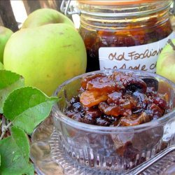 Old Fashioned Scottish Apple and Ginger Chutney recipe