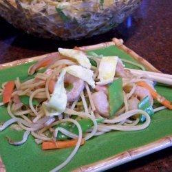 Szechuan Shrimp Noodle Salad recipe