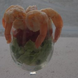 Vegas Shrimp Cocktail