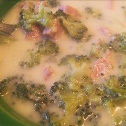 Low Carb Cheesy Broccoli Chowder
