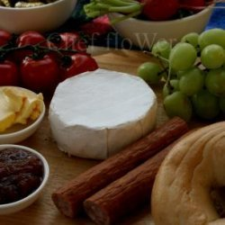 An Indoor Camembert Picnic Platter for Parties and Fêtes! recipe