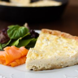 Potato and Boursin Frittata
